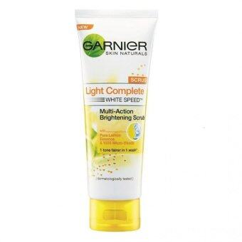 Harga Garnier Light Complete Scrub 100ml