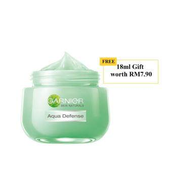 Harga [PROMO] Garnier Aqua Defense Essence 50ml with FREE Gift