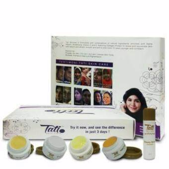 Harga TATI SKINCARE FULL SET 5 IN 1 TRIAL