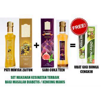 Harga Olive House Extra Virgin Olive Oil + Fig Vineger