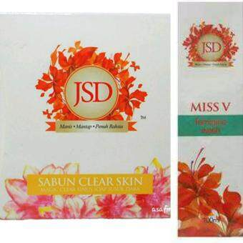 Harga Jamu Susuk Dara (JSD) Miss V Feminine Wash + Magic Clear Sinus Soap