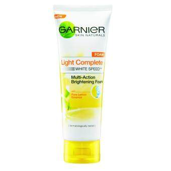 Harga Garnier Light Complete Foam 100ml