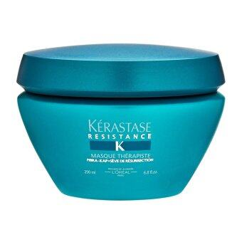 Harga Kérastase Paris Resistance Masque Therapiste Fiber Quality Renewal Masque (Very Damaged, Over-Processed Thick Hair) 6.8oz, 200ml