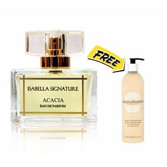 Harga ISABELLA SIGNATURE PERFUME ACACIA (The Simple Romantic) FOR HER 40ML Free Jojoba Shower Creme