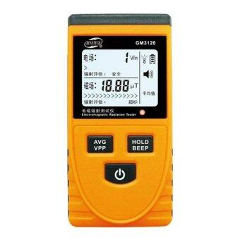 Harga Benetech GM3120 Electromagnetic Radiation Detector Tester - Yellow