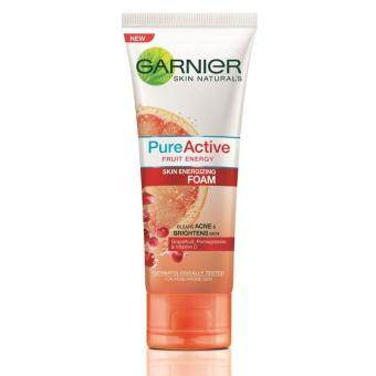 Harga Garnier Pure Active Fruit Energy Foam 50ml