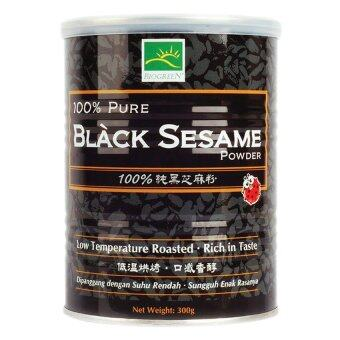 Harga Biogreen 100% Pure Black Sesame Powder 300g