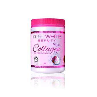 Harga Aura White Collagen Plus (Lemon Berry) 900g