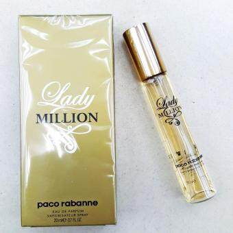 Harga Miniature perfume – PACO RABANNE - LADY MILLION - 20ml