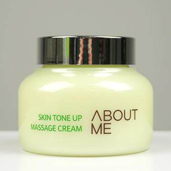 Harga ABOUT ME Skin Tone Up Massage Cream 150ml/Super Sale with Sample Gift