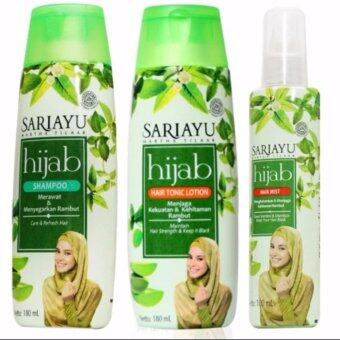 Harga Sariayu Hijab Hair Care Value Packs ( Hijab Shampoo 180ml & Hijab Hair Tonic Lotion & Hijab Hair Mist )