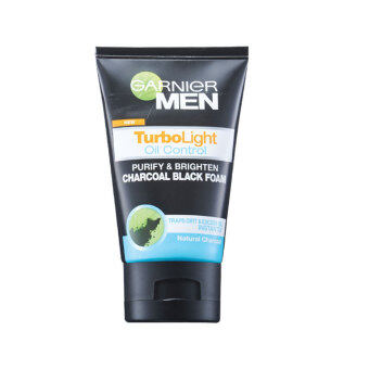 Harga GARNIER MEN Garnier Men Turbolight Oil Control Foam 100ML