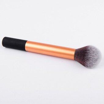Harga KissU Professional Kabuki Brush Cosmetic Blusher Powder Foundation Makeup Brush Tool