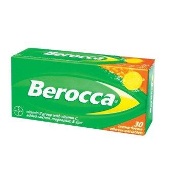 Harga Berocca Effervescent Orange Tablets 30s