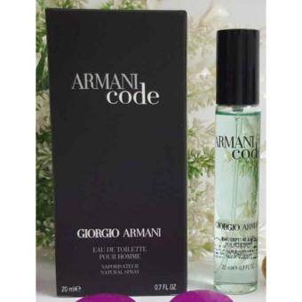 Harga Giorgio Armani Code Pour Homme 20mL for Men - Miniature Perfume