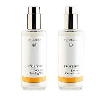Harga 2 x Dr. Hauschka Soothing Cleansing Milk 145ml