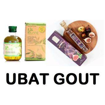 Harga Olive House Set Ghout / arthritis Olive Oil 30x and Fig Vinegar