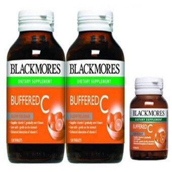 Harga Blackmores Buffered C 500mg 2x120's FOC 30's