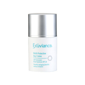 Harga Exuviance Multi-Protective Day Creme with Sunscreen Broad Spectrum SPF20 (Sensitive/Dry Skin) 1.75oz/50g
