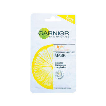 Harga GARNIER Skin Naturals Light Peel Off Mask 2X6ML