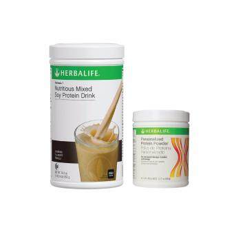 Harga Herbalife Formula 1 (F1) Cookies and Cream + Formula 3 (F3) Protein
