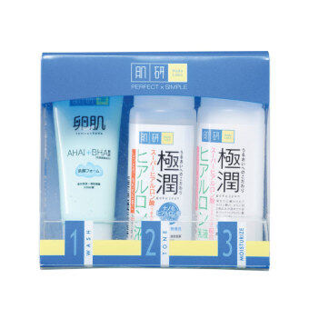 Harga HADA LABO Moist 123 Set 30ml X3