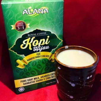Harga ALANA KOPI HIJAU GREEN COFFEE 3 BOX