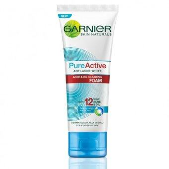 Harga Garnier Pure Active Anti-Acne White Foam 100ml