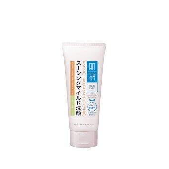 Harga HADA LABO Mild & Sensitive Face Wash 100g