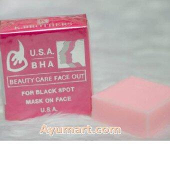 Harga K Brothers USA BEAUTY CARE FACE OUT - Pink Soap
