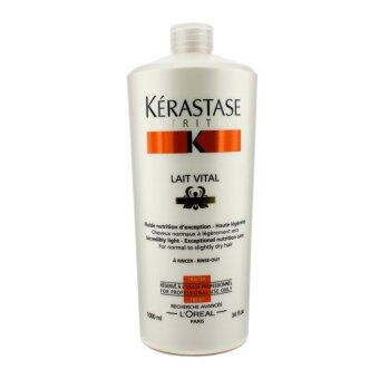 Harga Nutritive Lait Vital Incredibly Light - Exceptional Nutrition Care (For Normal to Slightly Dry Hair) 1000ml/34oz