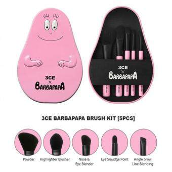 Harga 3CE BARBAPAPA BRUSH KIT