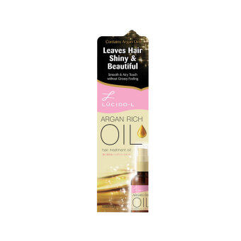 Harga LUCIDO-L Argan Oil Hair Treatment Oil 60ml
