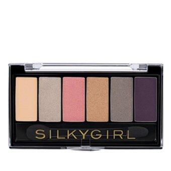 Harga SILKY GIRL Truly Nude Eye Shadow Palette 02 1's