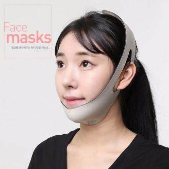 Harga Bio neoprene Beauty Face Masks/Facial Slimming Bandage Relaxation Lift Up Belt