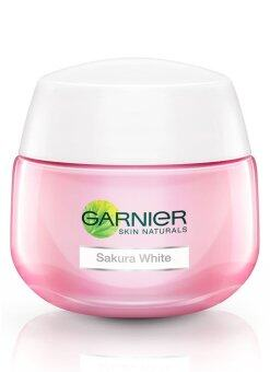 Harga Garnier Sakura White Pinkish Radiance Moisturizing Cream SPF21/PA+++ 50ml