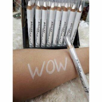 Harga KISS BEAUTY WHITE MANIAC EYELINER PENCIL