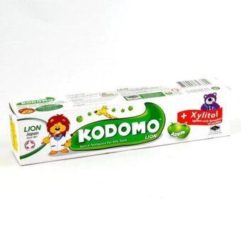 Harga KODOMO LION TOOTHPASTE APPLE 40G
