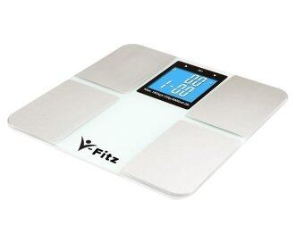 Harga V-Fitz BMI Digital Scale Body Fat Composition LCD Weighing Scale (White)