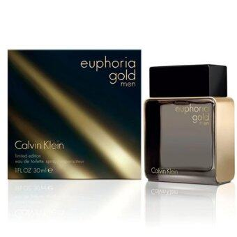 Harga Calvin Klein Euphoria Gold For Men Eau De Toilette Spray 100ml