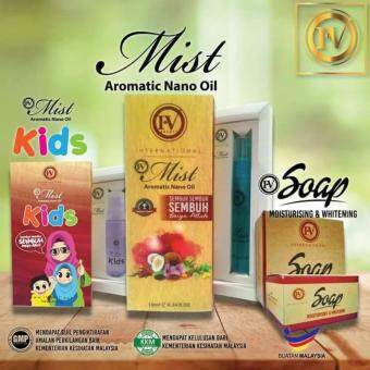 Harga FULL SET IV MIST ADULT 12ML;IV MIST KIDS 6ML,IV MIST SOAP +FREE POSTAGE