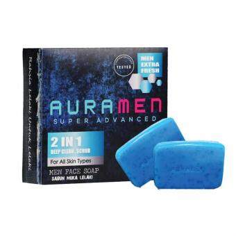 Harga Aura Men Super Advanced Auramen Face Soap 2 in 1