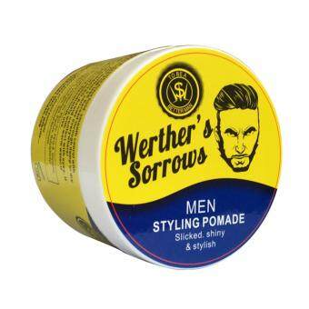 Harga WERTHER'S SORROW Pomade Monster Hold Brown Color 113g