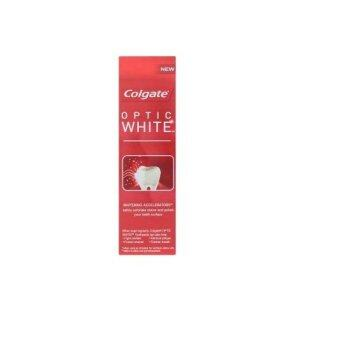 Harga Colgate Optic White Sparkling Mint Anticavity Fluoride Toothpaste 75ml