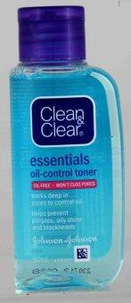 Harga CLEAN+CLEAR OIL CONTROLLING TONER 50ML