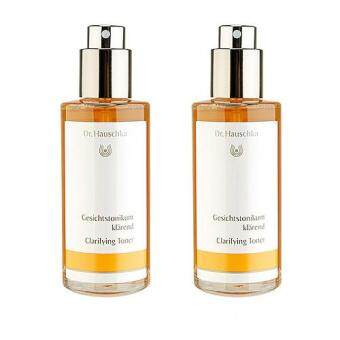 Harga 2 x Dr. Hauschka Clarifying Toner (For Oily or Blemished Skin) (New Version) 100ml