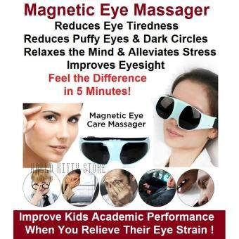 Harga Magnetic Eye Massager Relax Eyes Relieve Tiredness Stress Improve Eyesight Eyestrain Reduce Puffy Eyebags Dark Circles