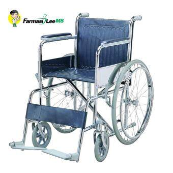 Harga Farmasi Lee MS Standard Wheelchair WC-1873 Seat width 51cm (1 year warranty)