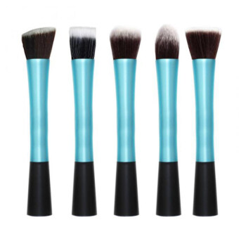 Harga KissU SH Makeup 5 pcs Set Powder Cosmetic Make up Makeup Blush berus Brushes