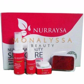 Harga ORIGINAL NURRAYSA SKINCARE SET 4 in 1 TRIAL